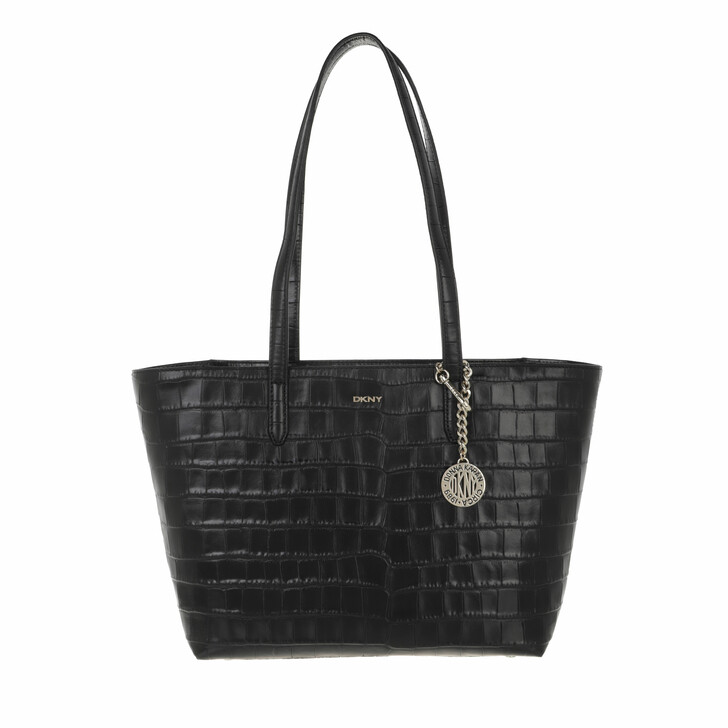 bags, DKNY, Bryant Md Tote Black Gold