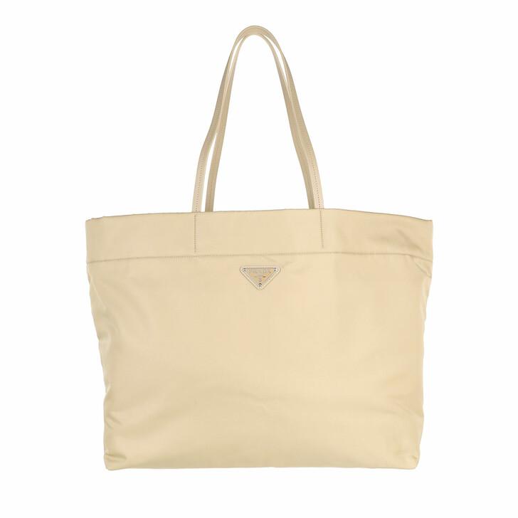 bags, Prada, Tote Bag Re-Nylon and Saffiano Lether Dessert