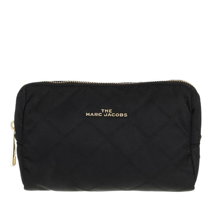 Necessaire, Marc Jacobs, Triangle Make Up Bag Black