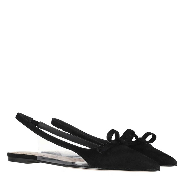 Schuh, Red Valentino, Ballerina Black Transparent