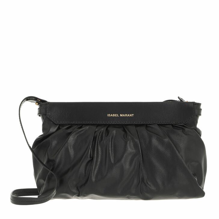 bags, Isabel Marant, Luzes Clutch Black