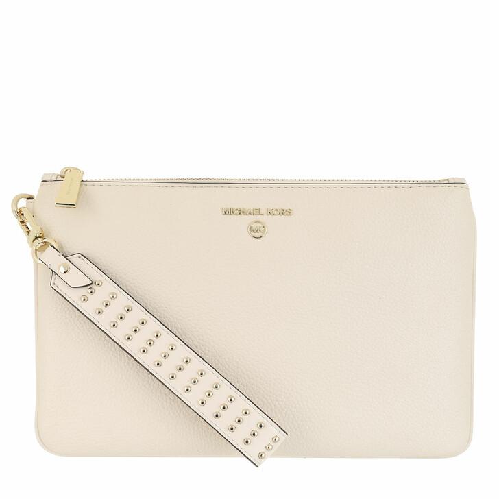 Handtasche, MICHAEL Michael Kors, Medium Bracelet Wristlet Light Cream