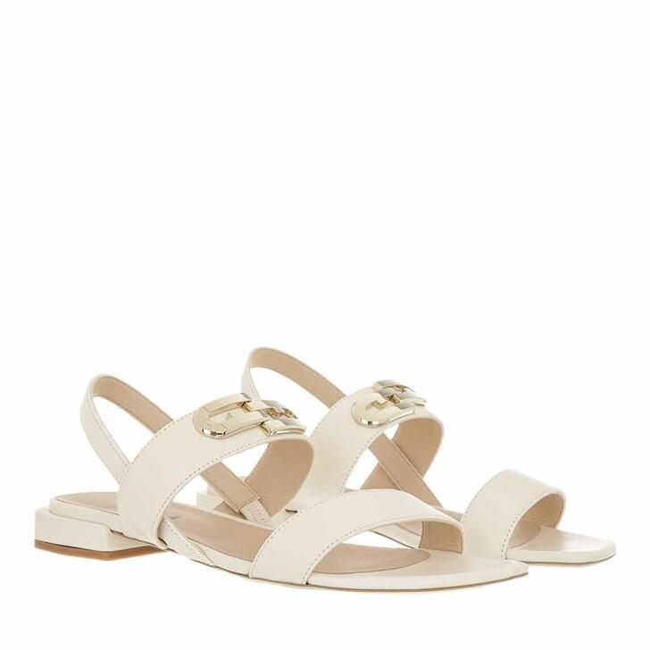 Schuh, Furla, Furla Chain Sandal T.20 Pergamena