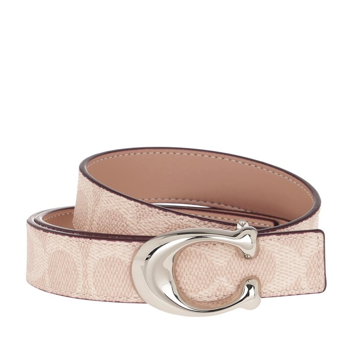 Gürtel, Coach, Belt Leather Sand Taupe