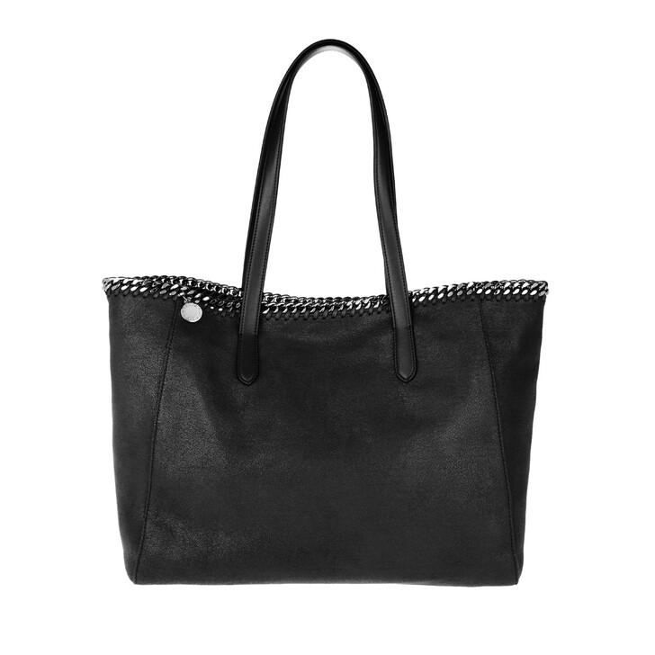 Handtasche, Stella McCartney, Falabella Shaggy Dear Small Tote Black