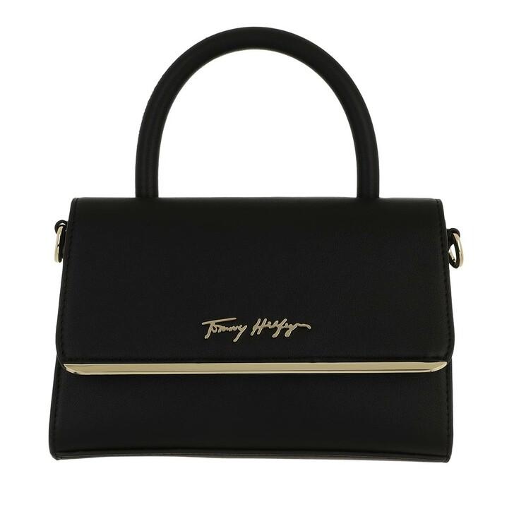 bags, Tommy Hilfiger, Tommy Modern Bar Bag Strap Black