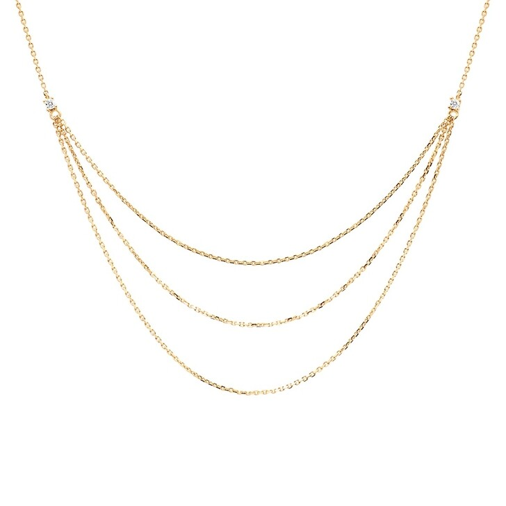 Kette, PDPAOLA, Nia Necklace Yellow Gold
