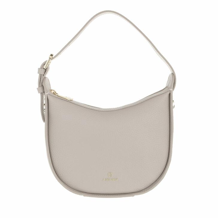 bags, AIGNER, Ivy Crossbody Bag Clay Grey