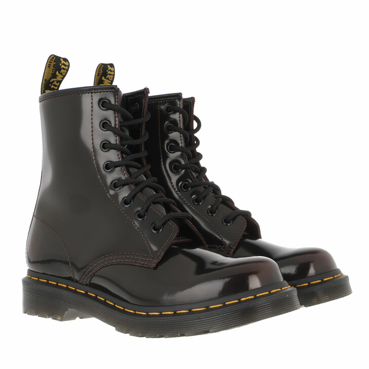 Schuh, Dr. Martens, 1460 Arcadia Boot Leather Cherry Red