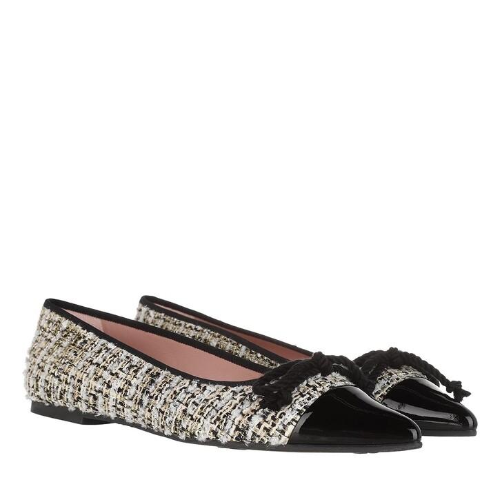 Schuh, Pretty Ballerinas, Tisse Ballerina Shoes Black-Multicolour