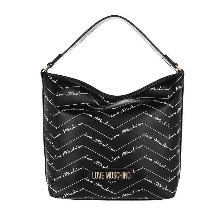 bags, Love Moschino, Bag Nero