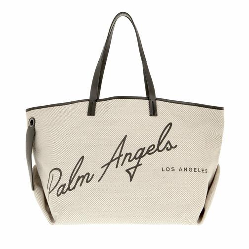 palm angels -  Shopper - La Shopping Cabas Bag Off - in weiß - für Damen