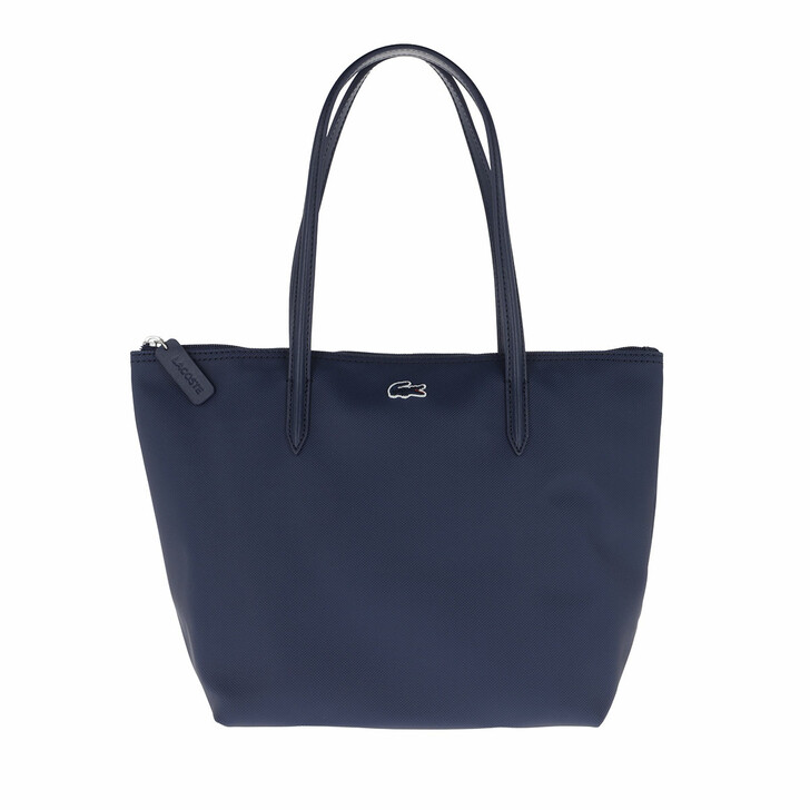 Handtasche, Lacoste, Small Concept Tote Bag Blue Depths
