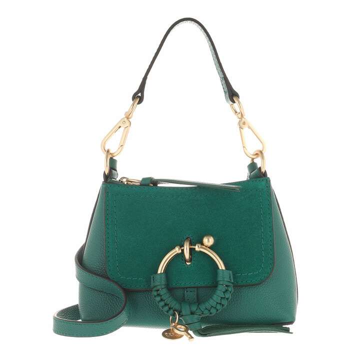 bags, See By Chloé, Joan Crossbody Bag Mini Woodsy Green