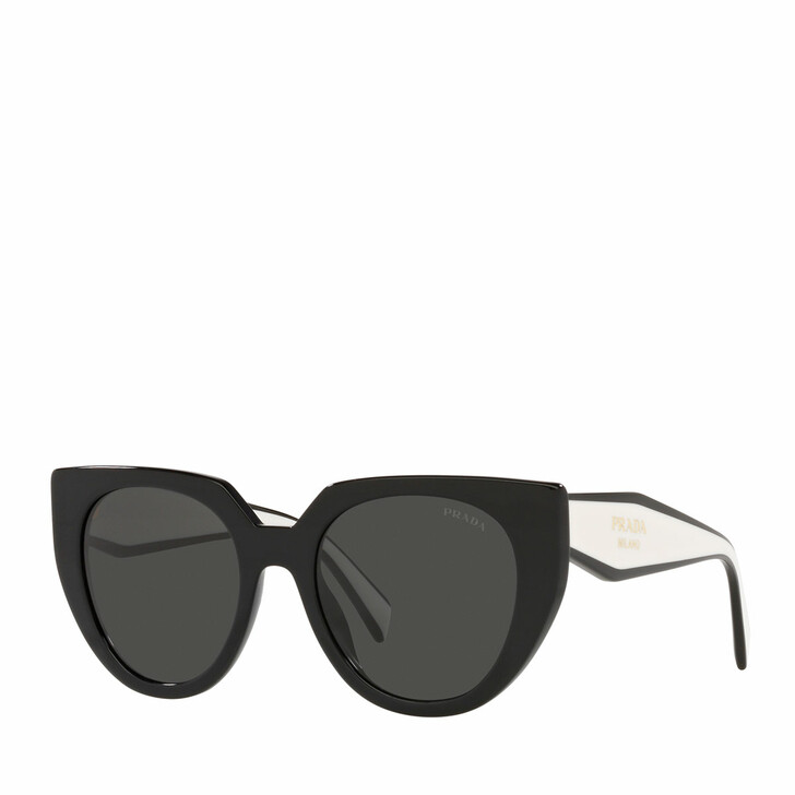 sunglasses, Prada, 0PR 14WS BLACK/TALC