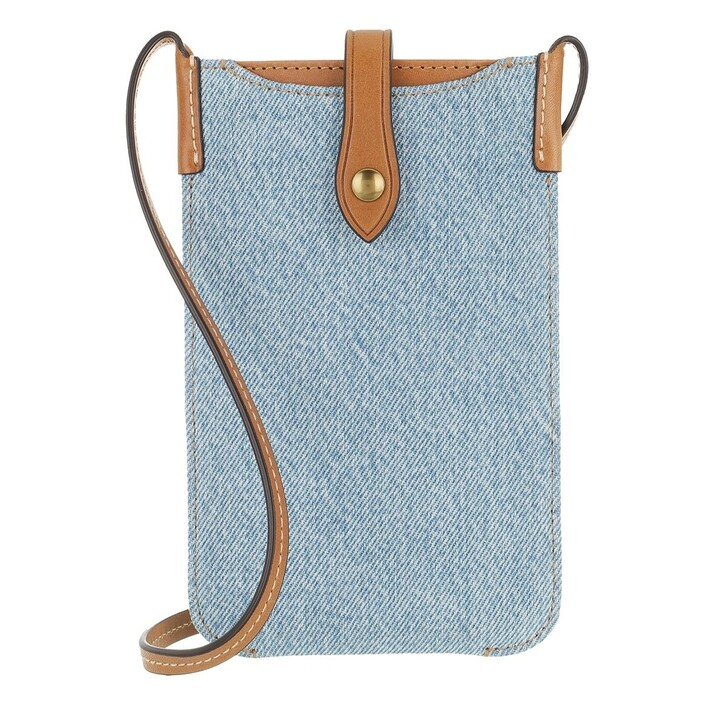 Smartphone/Tablet case (Case), Lauren Ralph Lauren, Phone Case Tech Case Fabric Blue
