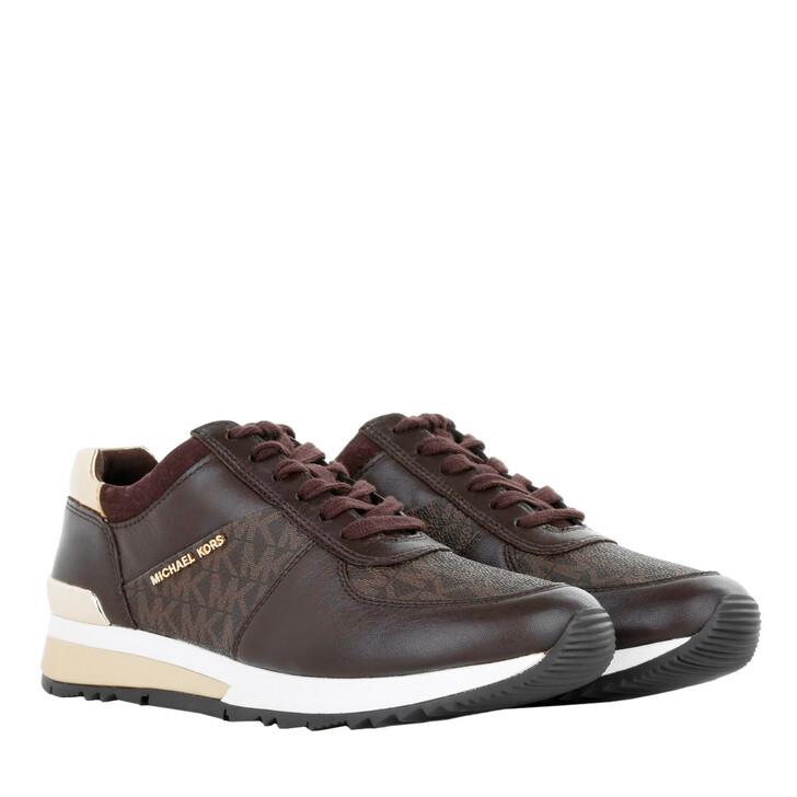 shoes, MICHAEL Michael Kors, Allie Wrap Trainer Brown