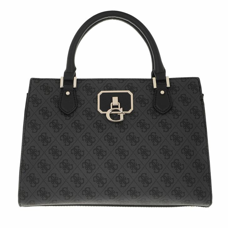 bags, Guess, Alisa Girlfriend Satchel Coal