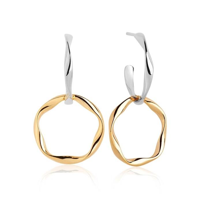 Ohrring, Sif Jakobs Jewellery, Cetara Pianura Due Earrings 18K Gold Plated
