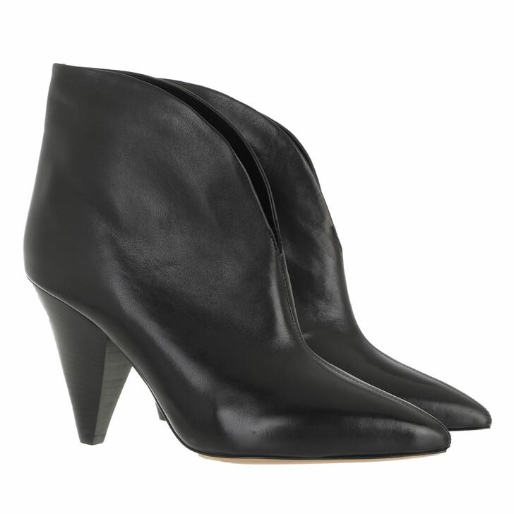shoes, Isabel Marant, Adiel Boots Leather Black