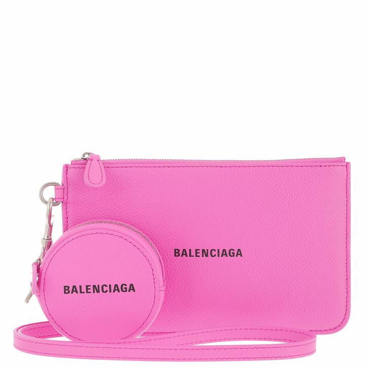wallets, Balenciaga, Wallet Pink