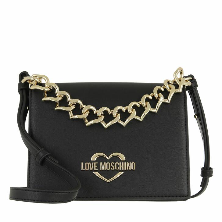 bags, Love Moschino, Borsa  Nero