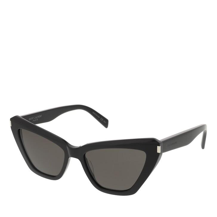 sunglasses, Saint Laurent, SL 466-001 54 Sunglass Woman Acetate Black-Black-Black