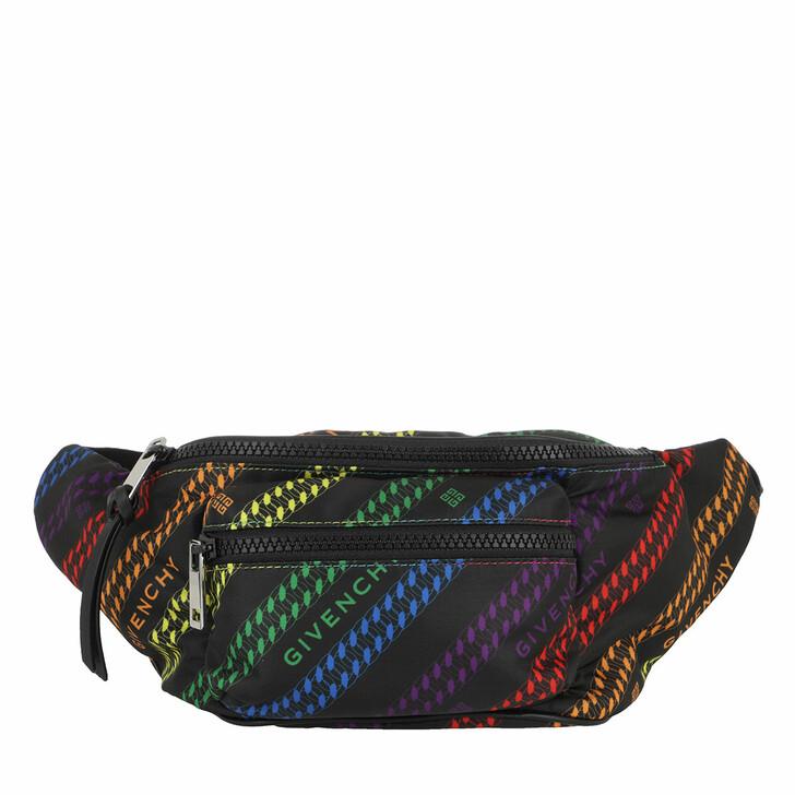 Handtasche, Givenchy, Bum Bag Black Mulitcolor