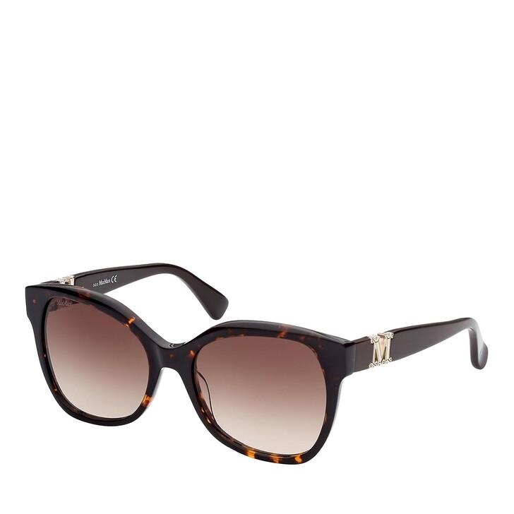 Sonnenbrille, Max Mara, MM0014 Dark Havana/Gradient Brown
