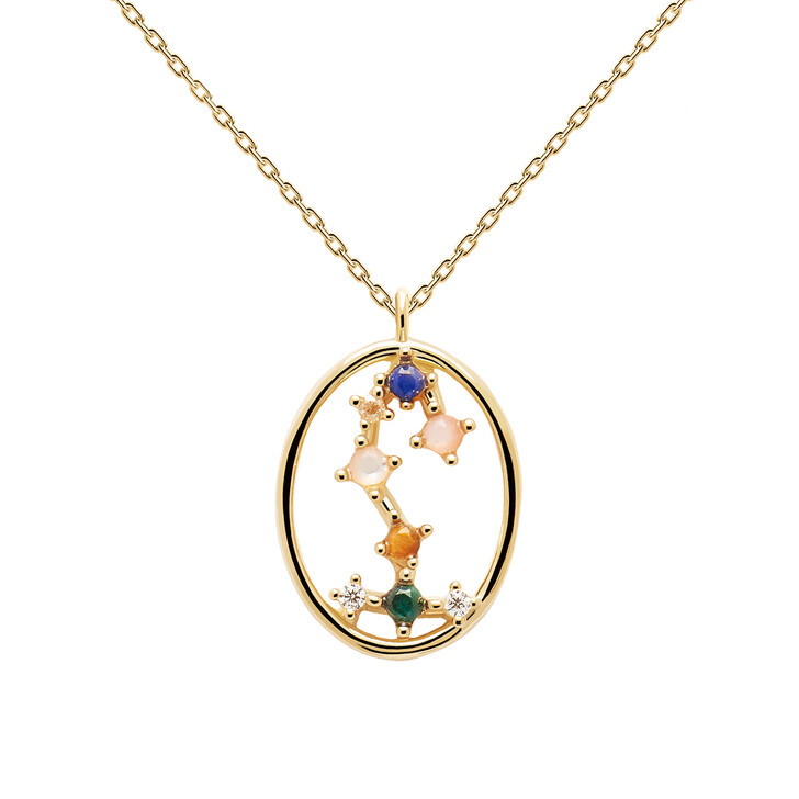 Kette, PDPAOLA, Necklace SCORPIO Yellow Gold