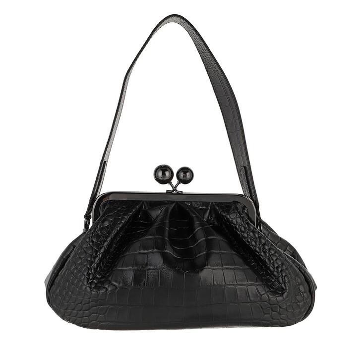 bags, WEEKEND Max Mara, Tattico Tote Bag Black