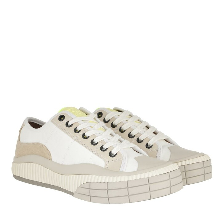 shoes, Chloé, Clint Low Top Sneakers Leather White
