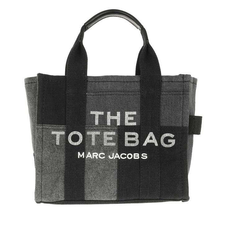 bags, Marc Jacobs, The Denim Tote Bag Denim/Black