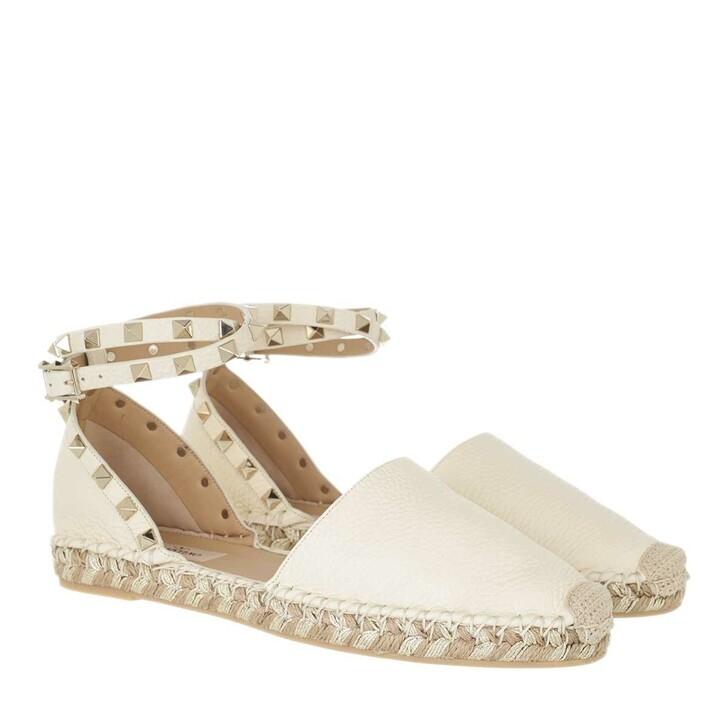 shoes, Valentino Garavani, Espadrilles Light Ivory