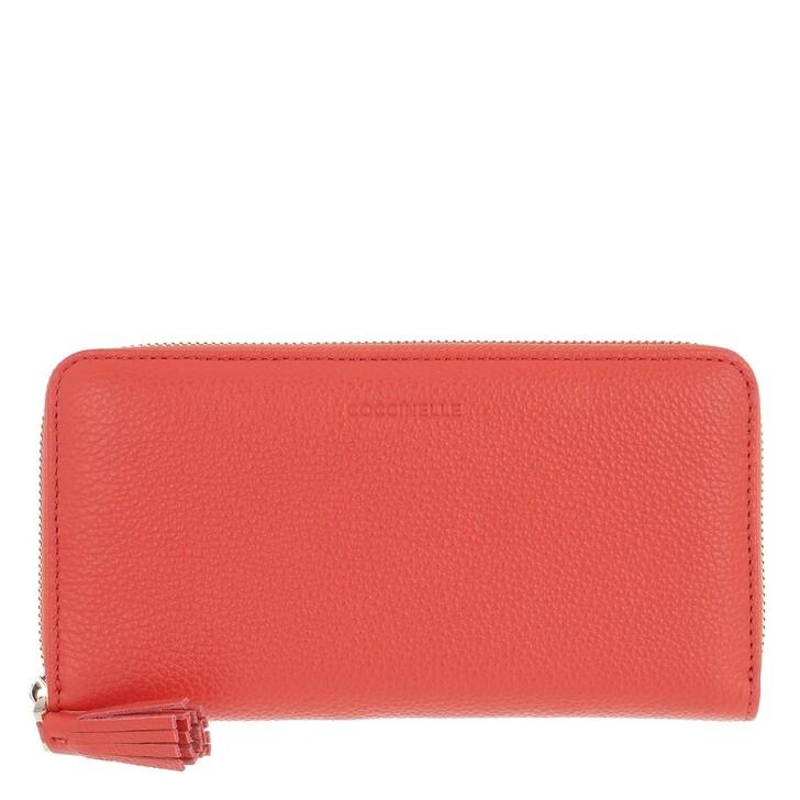 Geldbörse, Coccinelle, Tresor Wallet Coral Red