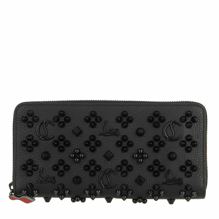 wallets, Christian Louboutin, Panettone Wallet Black/Ultra Black