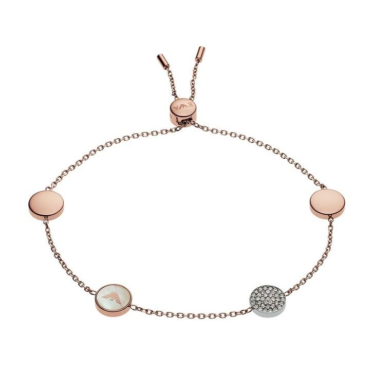 bracelets, Emporio Armani, Bracelet Signature Storia EGS2308221 Roségold