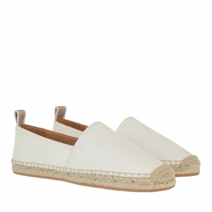 Schuh, Boss, Madeira Slid Open White