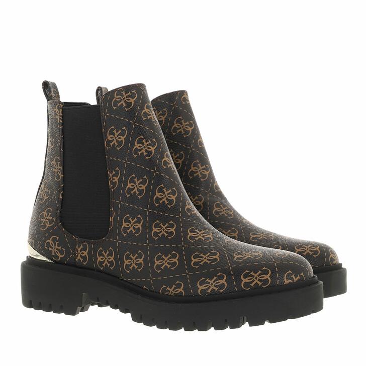 shoes, Guess, Olet Footwear Dress Bootie Brown/Ocra