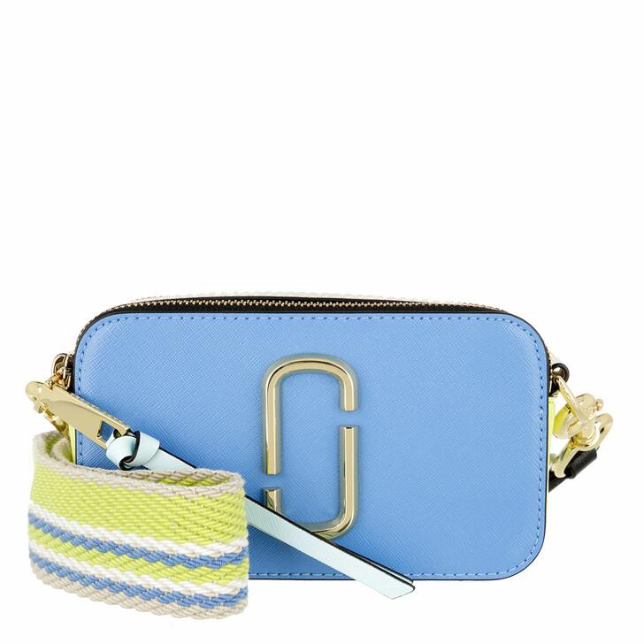 bags, Marc Jacobs, The Snapshot Small Camera Bag Aqua Multi