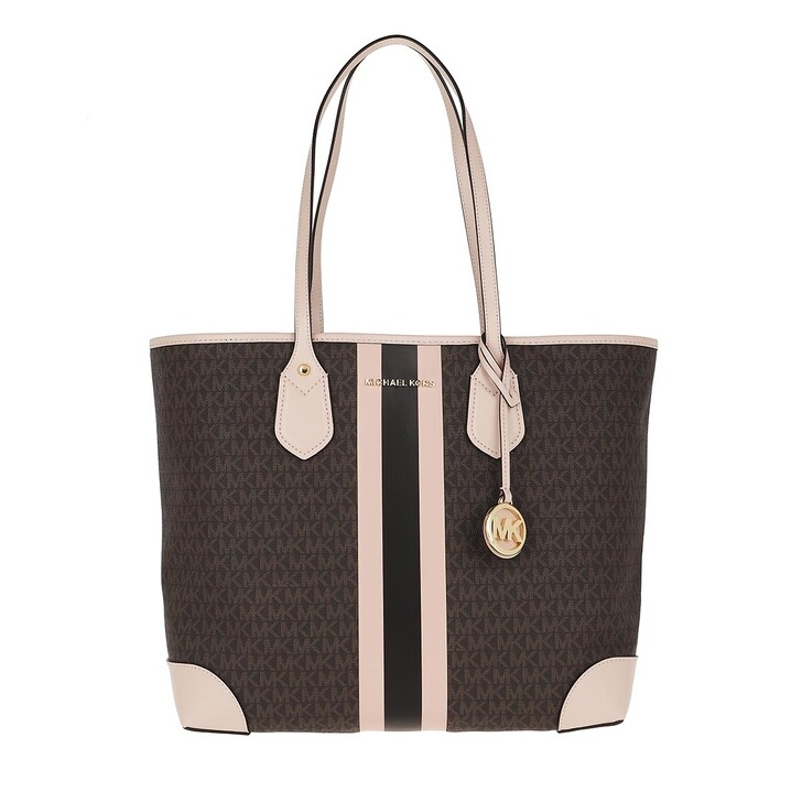 Handtasche, MICHAEL Michael Kors, Eva LG Tote Bag Brown Softpink