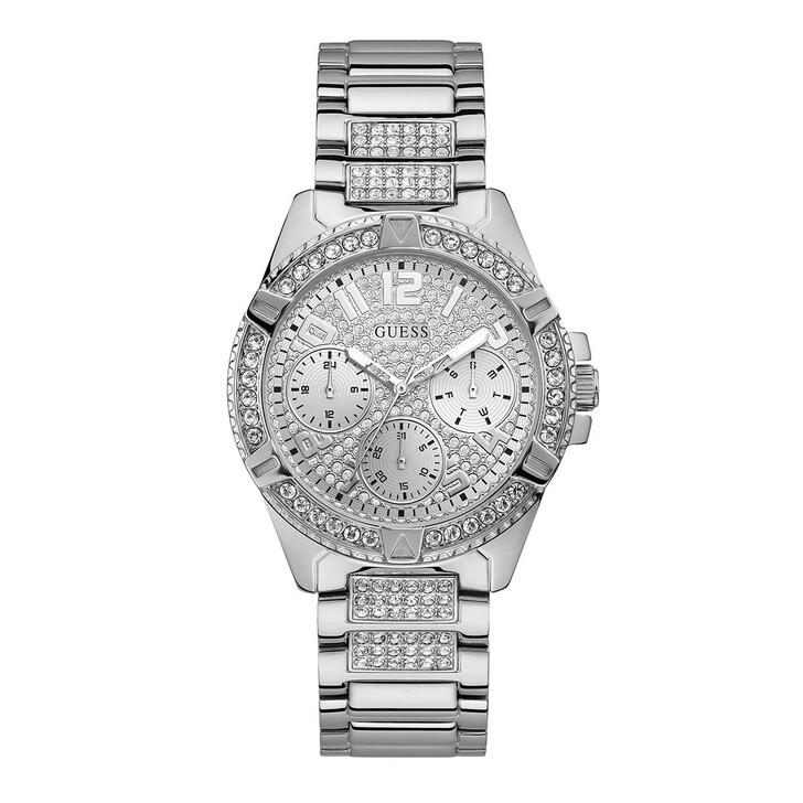watches, Guess, Women Quartz Watch Lady Frontier Silver