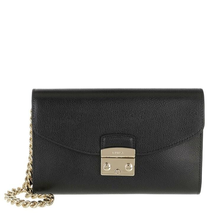 Handtasche, Furla, Metropolis Envelope Nero