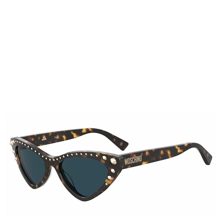 Sonnenbrille, Moschino, MOS093/S HAVANA