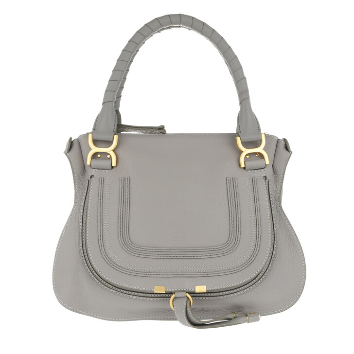 Handtasche, Chloé, Marcie Medium Shoulder Bag Cashmere Grey