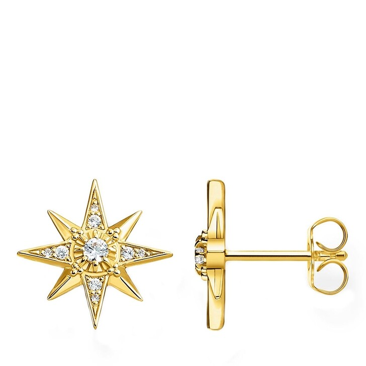 earrings, Thomas Sabo, Ear Studs Yellow Gold