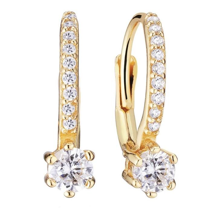 earrings, Sif Jakobs Jewellery, Rimini Altro Earrings 18 Carat Yellow Gold