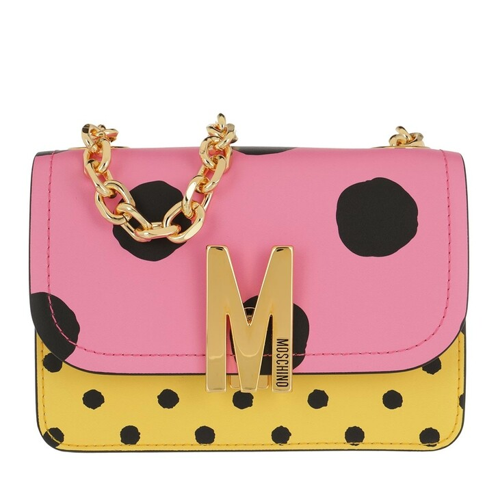 Handtasche, Moschino, Shoulder Bag Fantasia Fuxia
