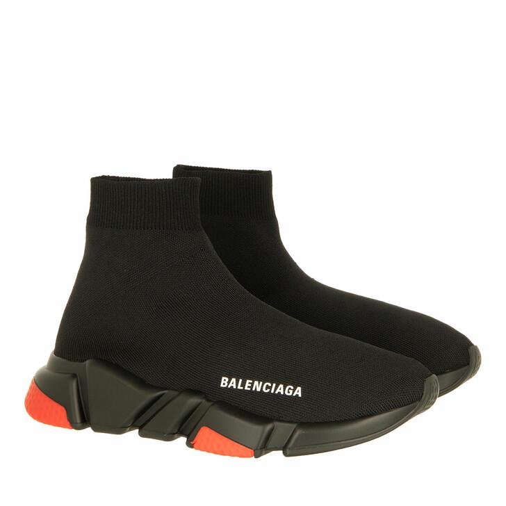Schuh, Balenciaga, Speed LT Knit Sneaker Black/Red/White