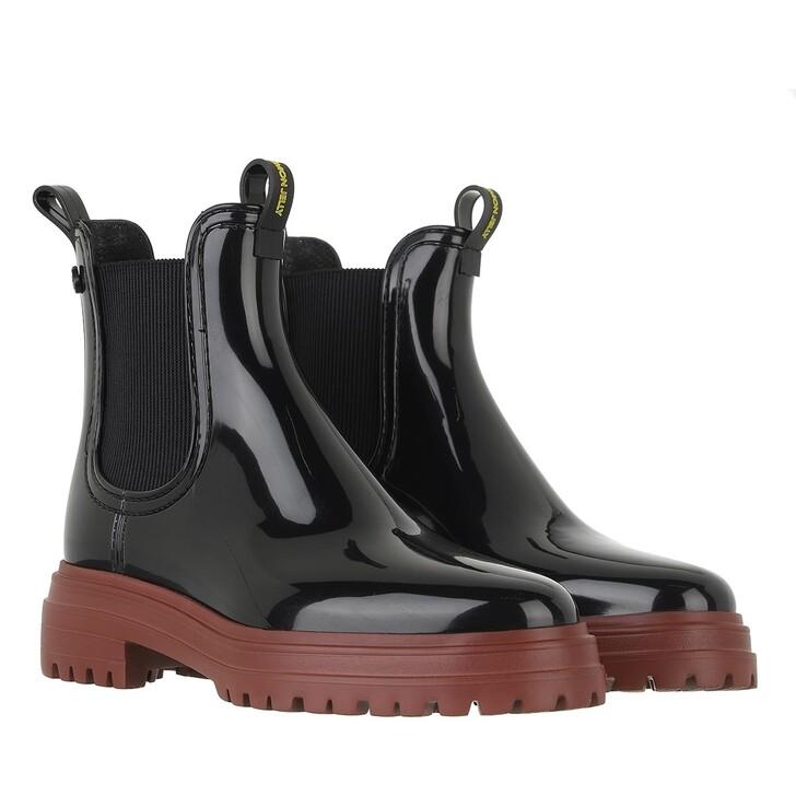 shoes, Lemon Jelly, Walker 02 Chelsea Boot Deep Red